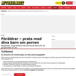Sofia Kreissl: Föräldrar – prata med dina barn om porren