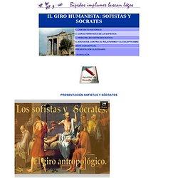 SOFISTAS Y SÓCRATES