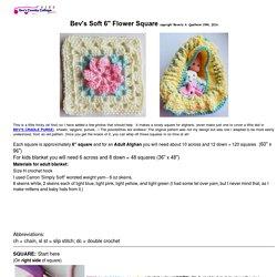 Soft Flower-Square