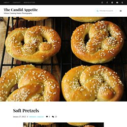 Soft Pretzels « The Candid Appetite