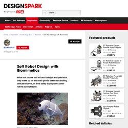 Soft Robot Design with Biomimetics