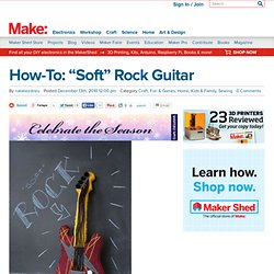 """Soft"" Rock Guitar"