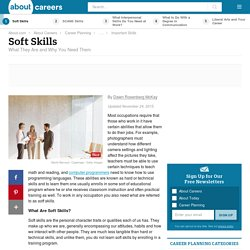Soft Skills: What They Are and Why You Need Them