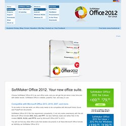 SoftMaker Office for Linux