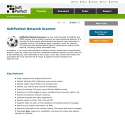 Network Scanner: fast and free network scanner