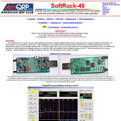 SoftRock-40 Kit Resource Page