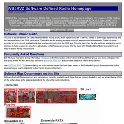 Softrock Software Defined Radio Homepage (www.wb5rvz.com)