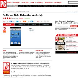 Software Data Cable (for Android) Review & Rating