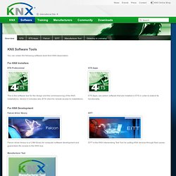 Software Tools - KNX Association [Official website]