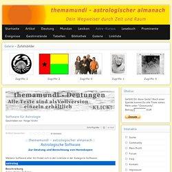 Software für Astrologie