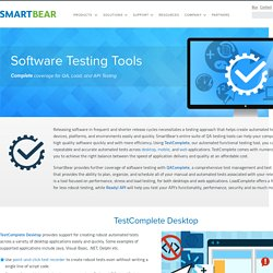 Software Test Automation and Management Tools