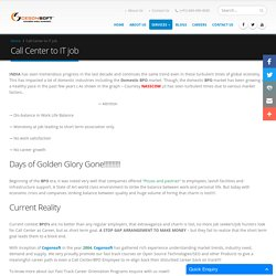 Call center software jobs Bangalore