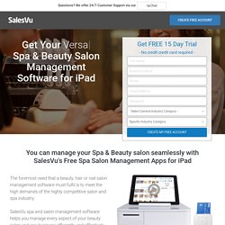 Free Beauty & Hair Salon Management Apps for iPad