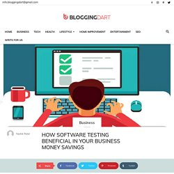 Business Money Saving By Software Testing