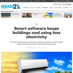 Smart software keeps buildings cool using less electricity