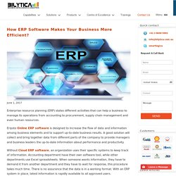 Best erp software by Erpisto