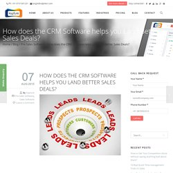 Sales CRM Software For Small Business