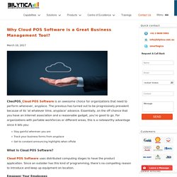 Why Cloud POS Software is a Great Business Management Tool?