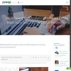 Web Based POS Software for Business Managers and Owners