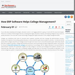 College Management Software and Administration ERP System