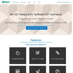 GST return filing software online