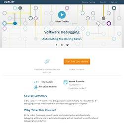 Software Debugging Methodologies