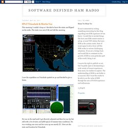 Software Defined Ham Radio