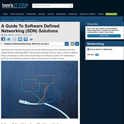 Software Defined Networking: What It Is and Isn't