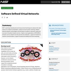 Software Defined Virtual Networks