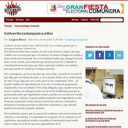 El software libre y la desmigración en el Minci - Por: Luigino Bracci @lubrio