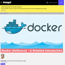 Docker (Software) – A Detailed Introduction - Mogul