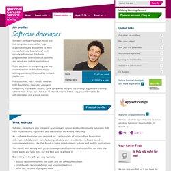 Software Developer Job Information