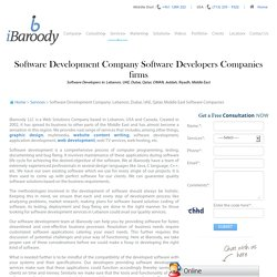 Software Development Companies Lebanon, Software Firms Lebanon
