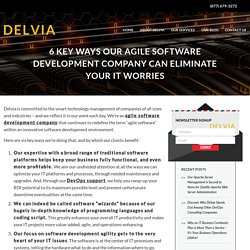 Agile Software Development Company