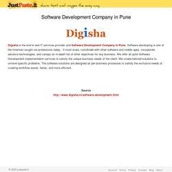 Software Development Company in Pune