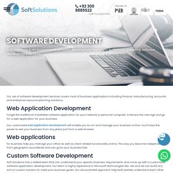 Software Development Company Pakistan