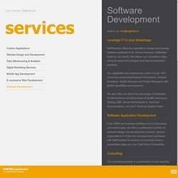 Software Development Services, Software Development Company in Delhi NCR, India