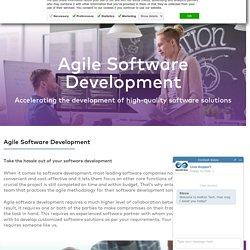 Agile Software Development Company & Services in USA