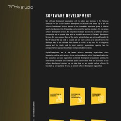 Best software development company services india digital tripoly