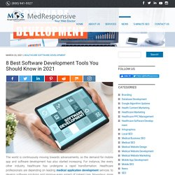 8 Best Software Development Tools You Should Know in 2021