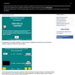 Software Didattico Free - Il mio software: scheda didattica