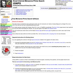 Free Software - GIMPS