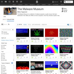 The Malware Museum : Free Software : Free Download, Borrow and Streaming