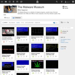 The Malware Museum : Free Software : Download & Streaming