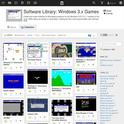 Software Library: Windows 3.x Games : Free Software : Download & Streaming