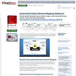 Value Stream Mapping Software - Download Free VSM Templates & Symbols