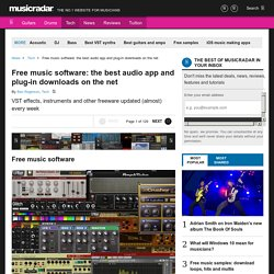 Free music software: the best audio app and plug-in downloads on the net | Free music software