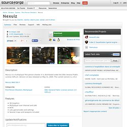 Nexuiz | Download Nexuiz software for free at SourceForge