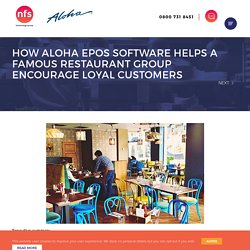 How EPOS software is driving up loyalty at famed restaurants