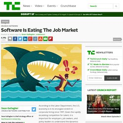 Software Is Eating The Job Market